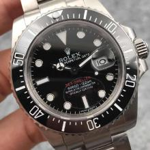 Rolex Sea-Dweller Swiss ETA 2836 Movement Ceramic Bezel with Black Dial S/S