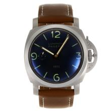 Panerai Luminor Marina 1950 Unitas 6497 Movimento Con Quadrante Nero-AR Rivestimento