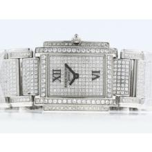 Patek Philippe Twenty-4 Ore Movimento Svizzero ETA Con Full Diamond-Lady Dimensione