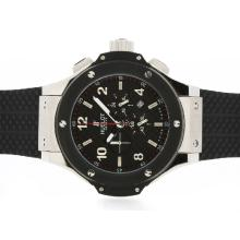 Hublot Big Bang Re Lavoro Cronografo PVD Lunetta Con Black Carbon Fibre Style Dial-48MM Version