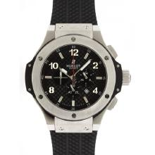 Hublot Big Bang Re Lavoro Cronografo Con Nero Carbonio Style Dial-48MM Version