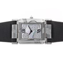 Patek Philippe Twenty-4 Ore Limited Edition Movimento Svizzero ETA Con MOP Dial-Lady Dimensione